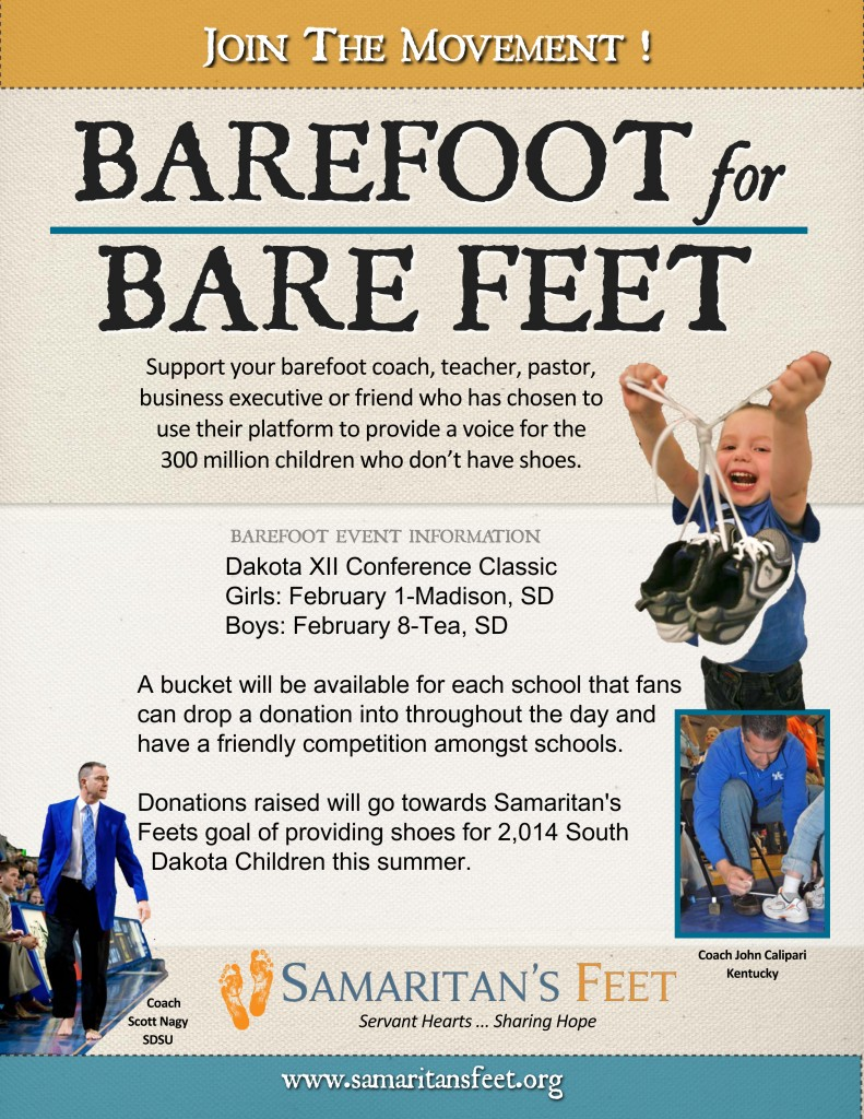 Barefoot for Bare Feet  8 X 10