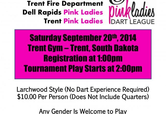 Pink Ladies Benefit Dart Tournament