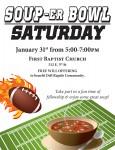 Soup-er Bowl Saturday 1-31-15