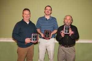 L to R:  Mike Park (T&C), Matt Larson (Big Sioux Media), Loren Fjellanger Photo courtesy of Holly Davidson