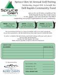 2015 Spruce Glen Golf Invite