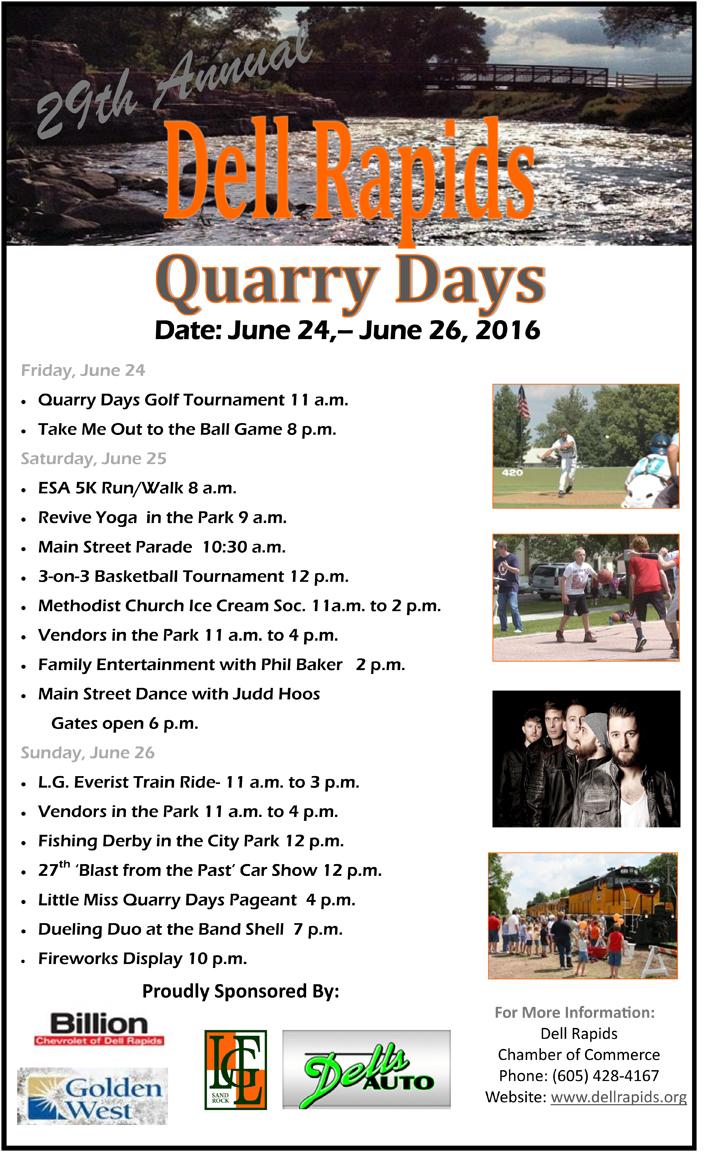 Quarry Days Poster2016