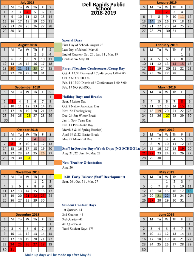 DellRapids18-19Calendar