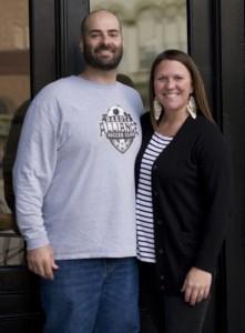 David and Rebecca Ohayon Photo courtesy of Tammy Chamley, Dells City Journal